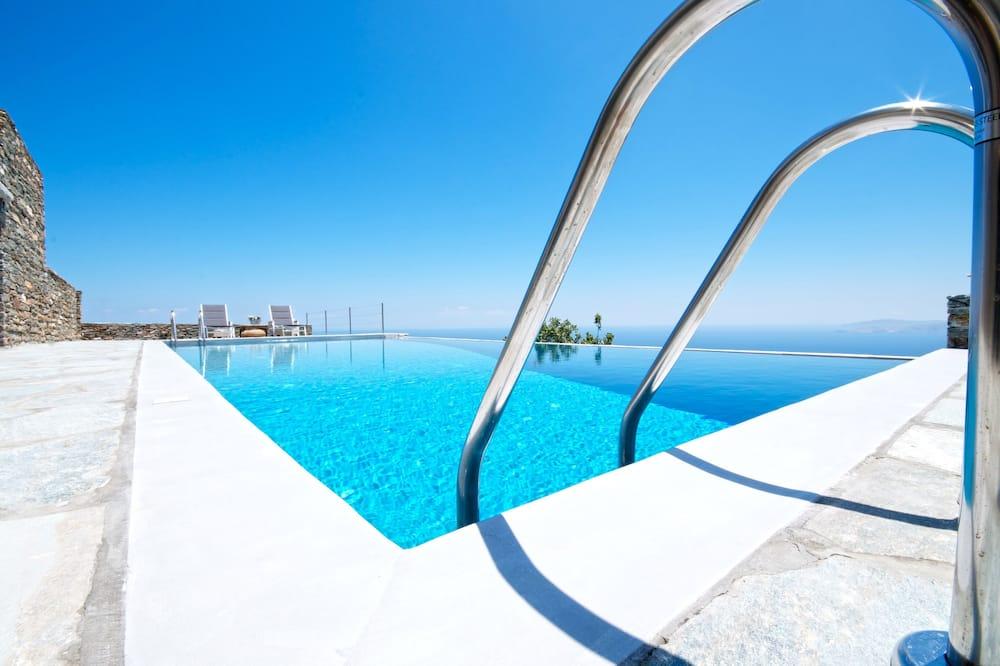 Villa, 5 chambres, vue mer - Piscine privée