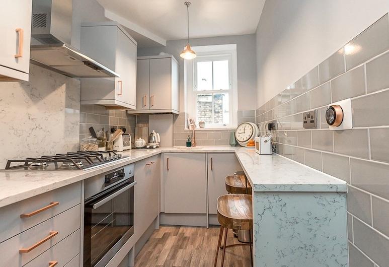 肖迪奇寧靜街道驚人公寓酒店, 倫敦, 公寓, 1 間臥室, 私人廚房