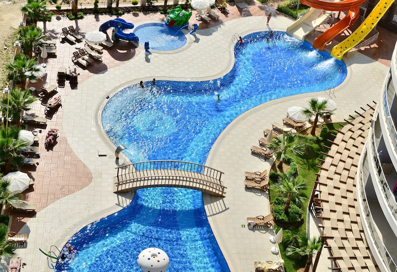 Vesta Garden Apartments by Etucon, Alanya, Hồ bơi ngoài trời