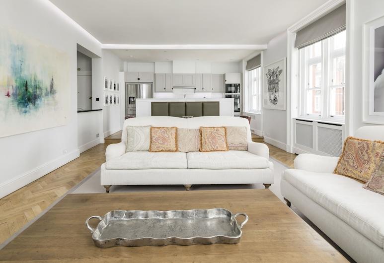 Luxurious Mayfair Home by Hyde Park, London, Apartment, 3Schlafzimmer, Wohnzimmer