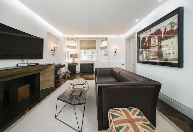 龐德街風格梅菲爾之家酒店, 倫敦, 公寓, 1 間臥室, 客廳