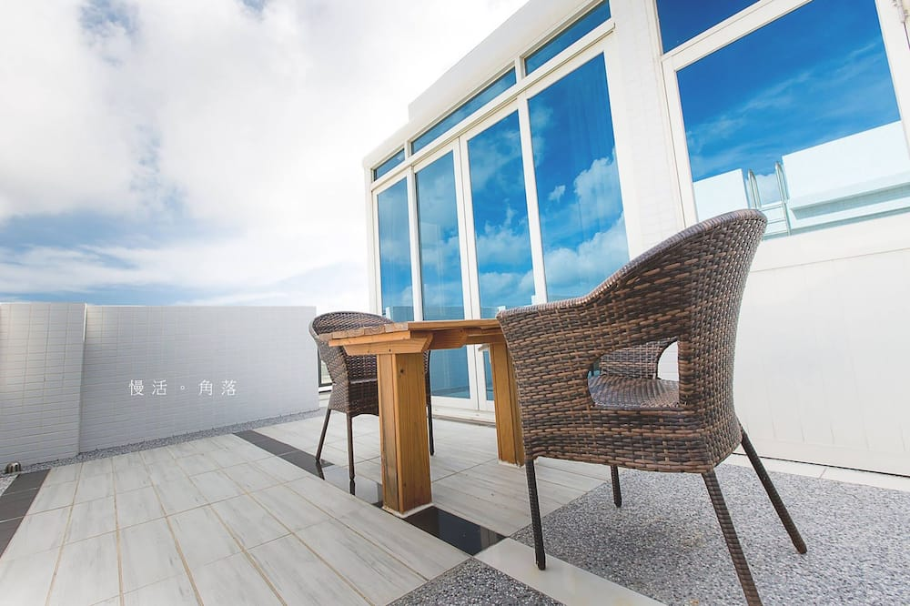 Doppelzimmer (Slow 401) - Balkon