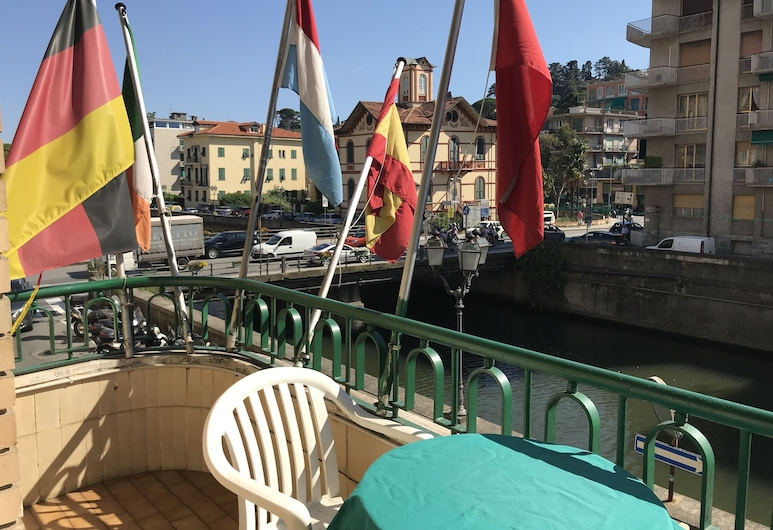 Hotel Claridge, Rapallo, Teras/Veranda