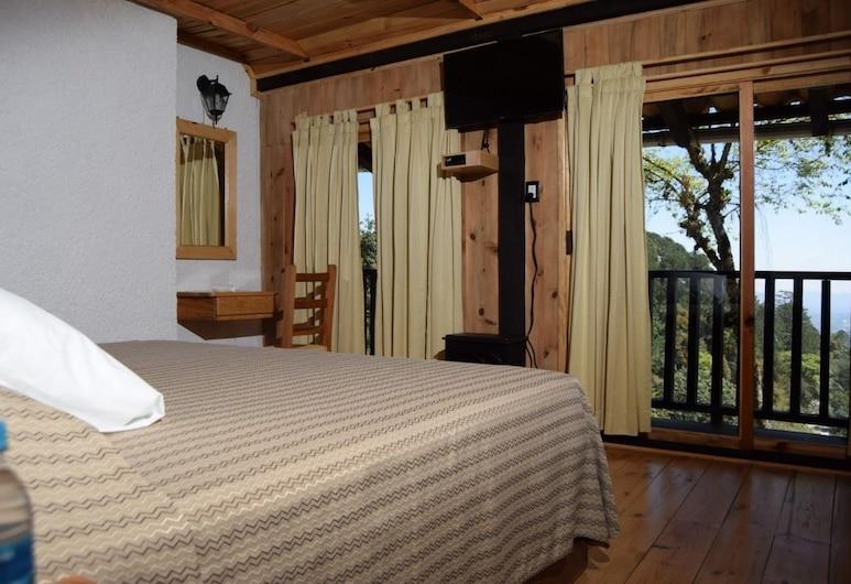 Hotel Campestre Daarlu, Huauchinango, ห้องพาโนรามิก, เตียงคิงไซส์ 1 เตียง, วิวเมือง, ห้องพัก