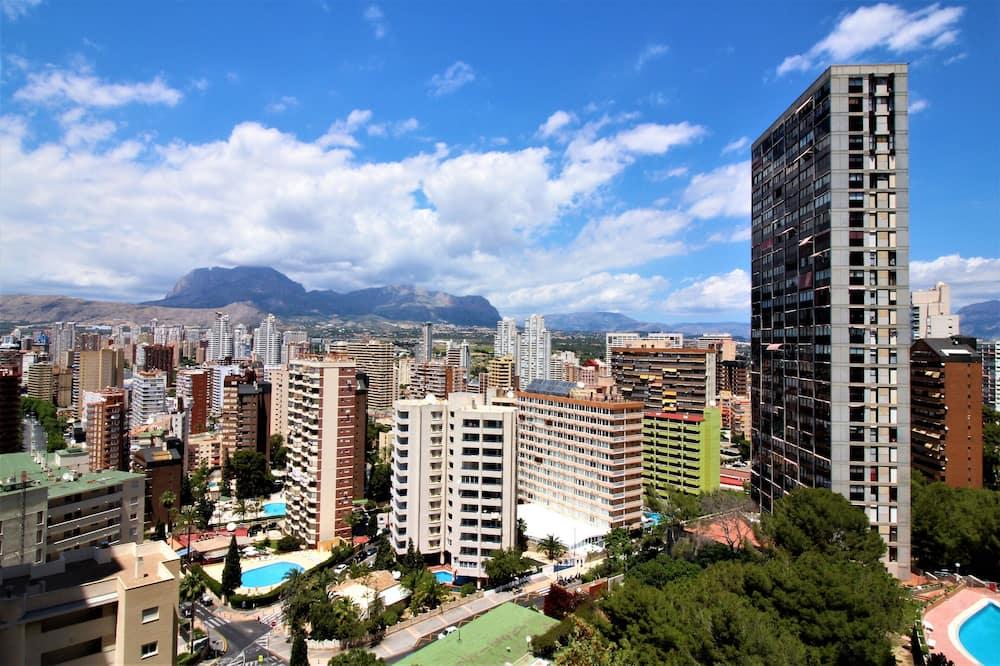 شقة - غرفة نوم واحدة - منظر للمدينة
