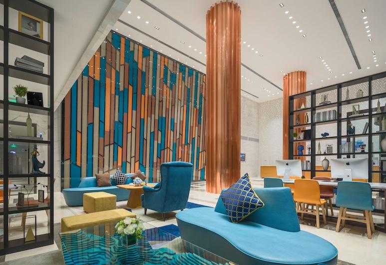 Holiday Inn Express Qingdao Chengyang Central, Qingdao, Vestíbulo
