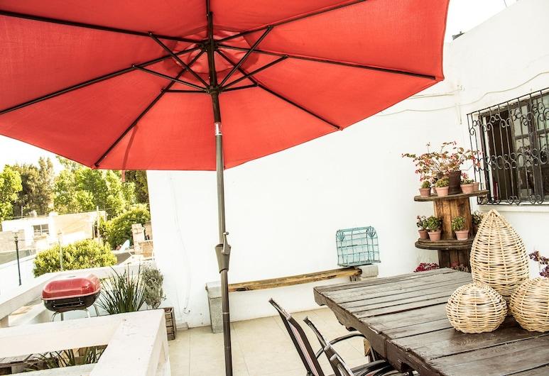 Hostal La casa de Bruno, Durango, Terasa/trijem