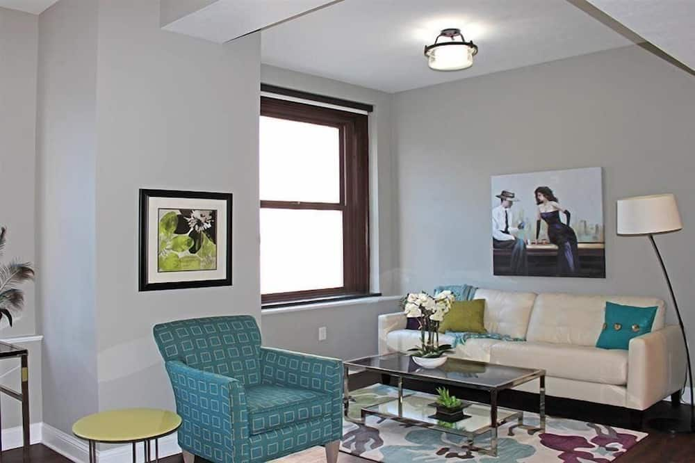 Departamento, 1 cama doble - Sala de estar