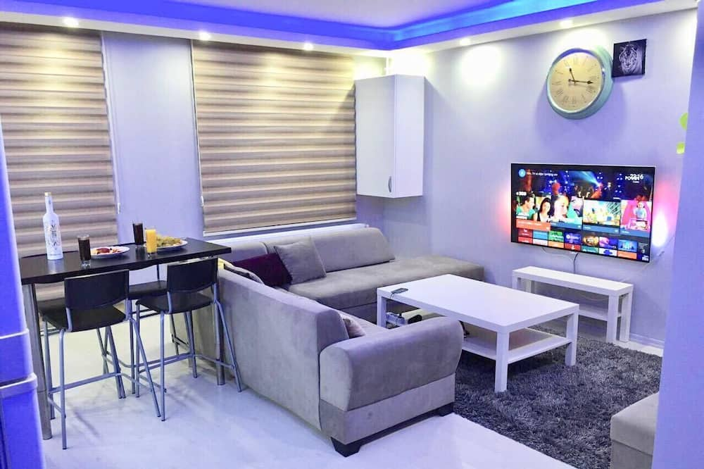 Luxury Apartment, 1 Bedroom - Bilik