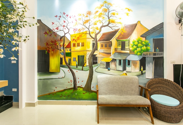 OYO 505 峴港海鷗之家飯店, 峴港, 大廳休息區