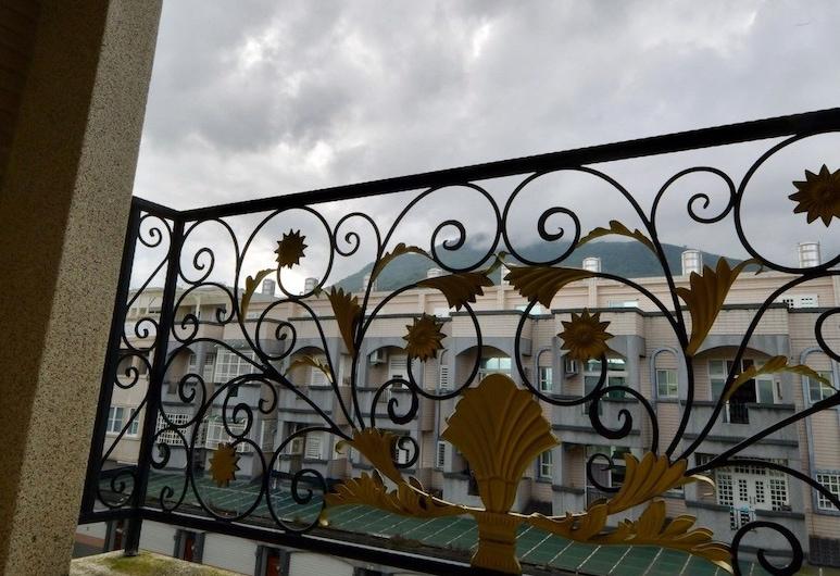 123 民宿, 吉安鄉, 標準雙床房, 2 張單人床, 陽台