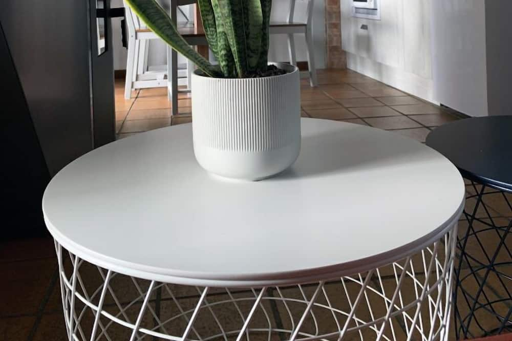 Comfort-Maisonette, Bergblick - Wohnbereich