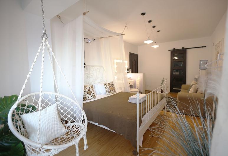 VK House上海交大微客棧(溫馨大床房), 上海市, 基本公寓, 客廳