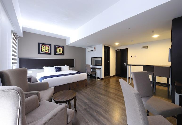 OYO Capital O 978 Midaris Hotel, Куала-Лумпур, Улучшенный двухместный номер с 1 двуспальной кроватью, 1 двуспальная кровать, Номер