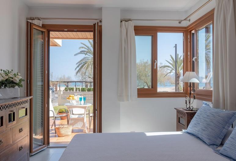 Tamarells Garden Apartment, Pollença, Appartamento, 3 camere da letto, terrazzo, Camera
