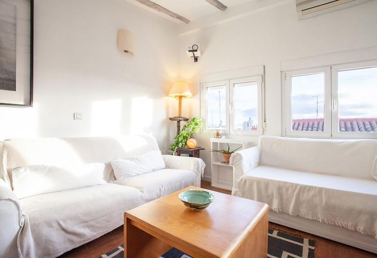 سبيشوس فلات فور فاميليز باي ألو هاوسينج, مدريد, شقة - غرفتا نوم, منطقة المعيشة