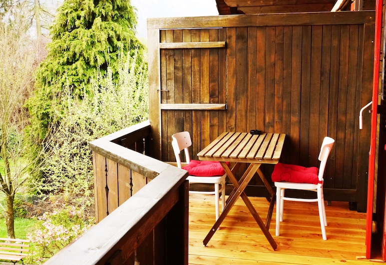 Adventure Guesthouse, Unterseen, Panoramic-Doppelzimmer, Bergblick, Balkon