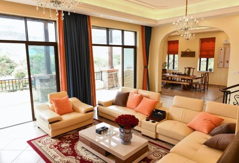 Hele Family Hot Spring Villa No.1, Huizhou, Villa, Living Room