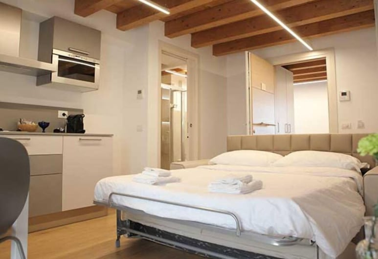Residenza della Samaritana, Verona, Deluxe-Apartment, 1Queen-Bett und Schlafsofa, Balkon, Zimmer