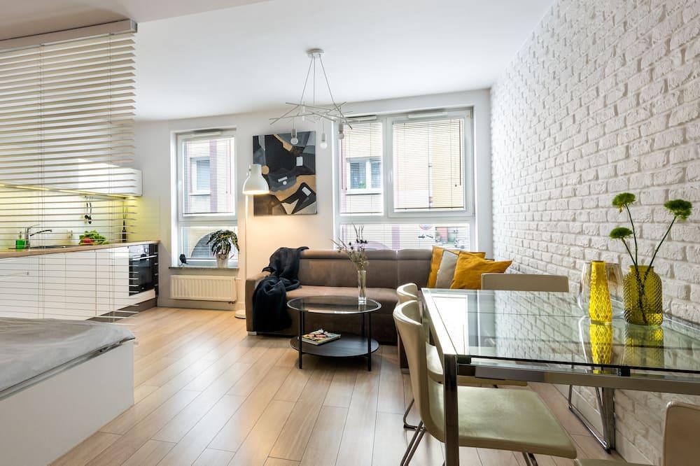 Apartment (Rydygiera 14/3) - Wohnbereich