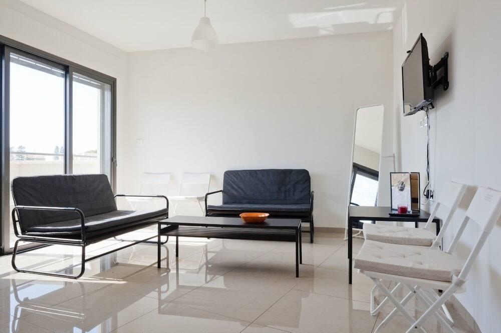 Ubytování ve společné místnosti typu Basic, více lůžek (1 Bed) - Obývací prostor