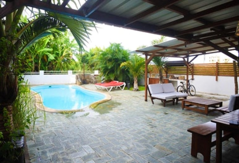 Apartment With 2 Bedrooms in Pereybere, With Shared Pool, Enclosed Garden and Wifi, Grand-Baie, Uima-allas