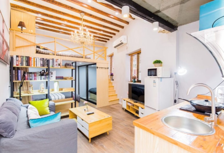 VK House No.2 Near Bajin's Residence, Xangai, Apartamento, 1 Quarto, Quarto