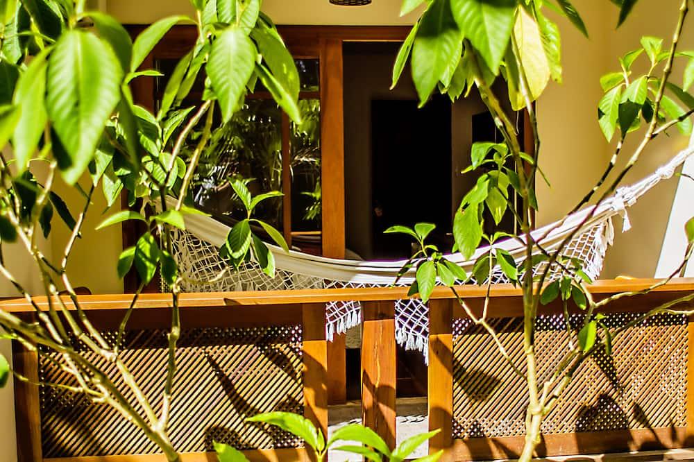 Quarto Casal, 1 cama de casal, Vista para o jardim - Балкон