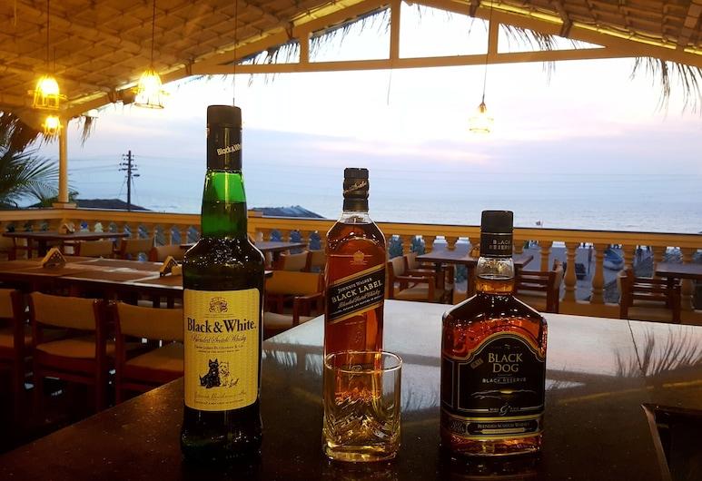 Zac Beach Resort, Calangute, Hotelbar