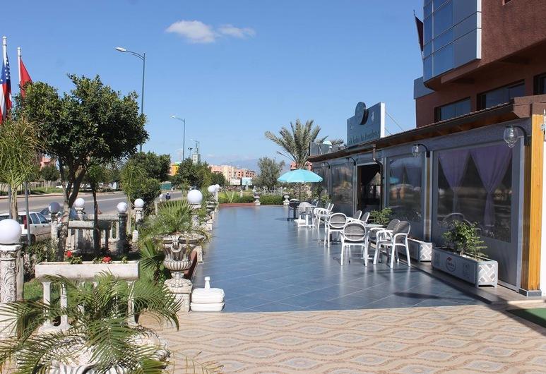 Hotel Hadaik Ain Asserdoune, Beni Mellal, Terase/iekšējais pagalms