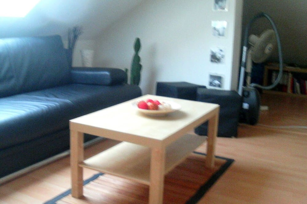 Appartement (1.5 bedrooms) - Woonruimte