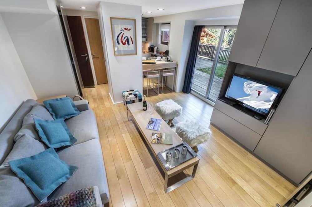 Appartement avec Terrasse - Coin séjour