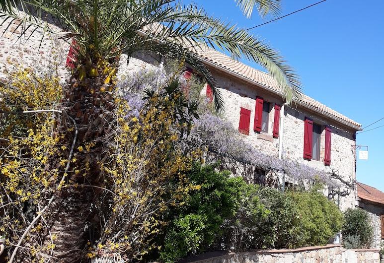 Au Moulin du Martinet, Saint-Chinian, Bagian Depan Hotel
