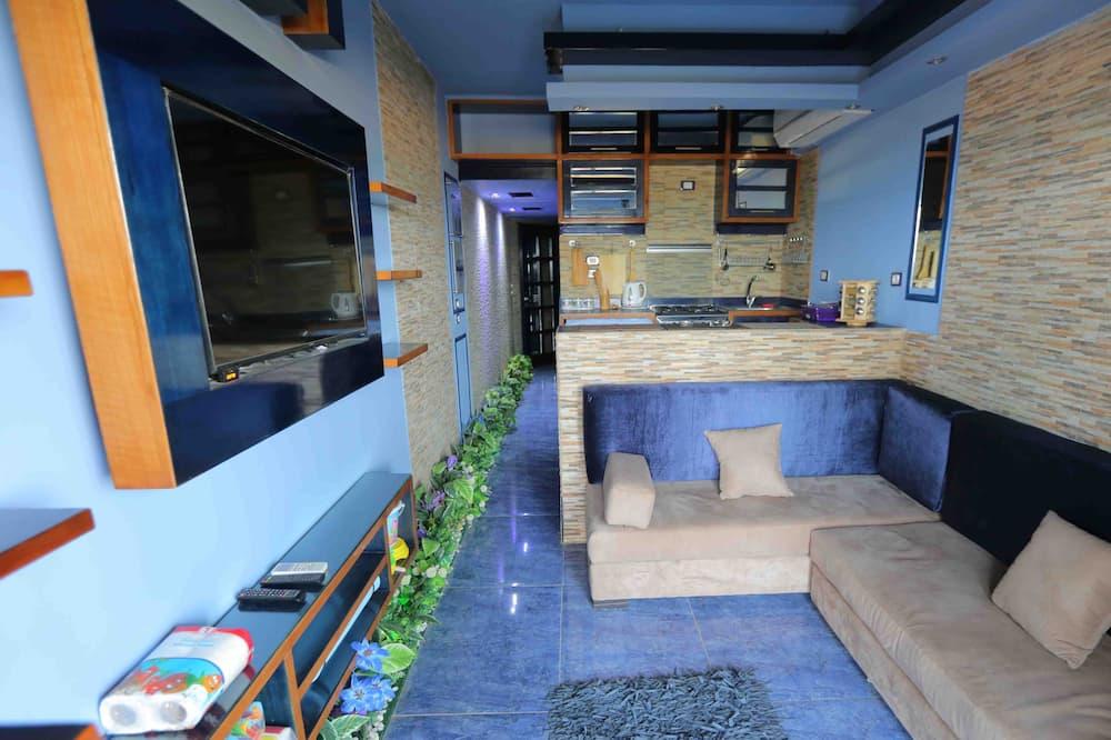 Chalet, 2Schlafzimmer - Wohnbereich