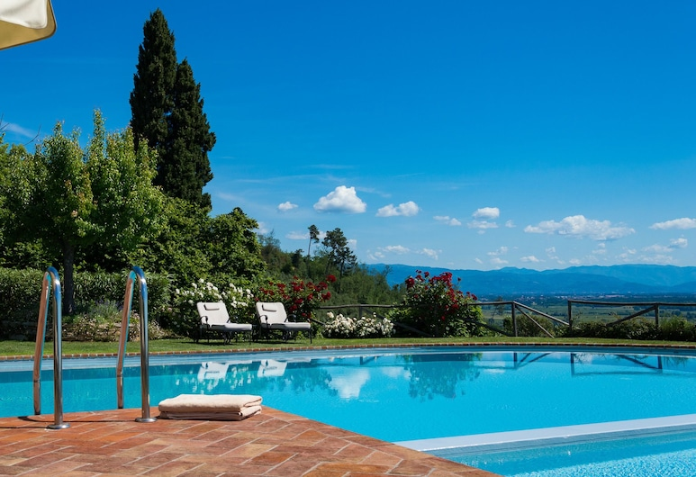 Luxury 6-bed Tuscan Villa Near Lucca, Capannori, Villa, Varias camas, Piscina