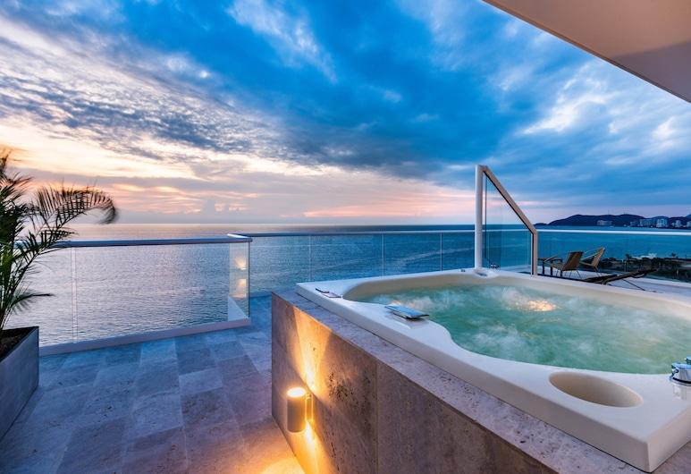 Santa Marta Marriott Resort Playa Dormida, Santa Marta, Σουίτα, 1 Υπνοδωμάτιο, Μη Καπνιστών, Θέα στη Θάλασσα, Δωμάτιο επισκεπτών