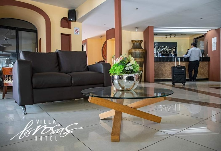 Hotel Villa las Rosas, Tepic, Recepción