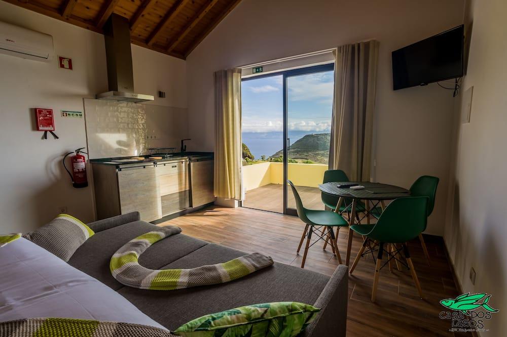 Studio, Terrace, Sea View (1) - Living Area
