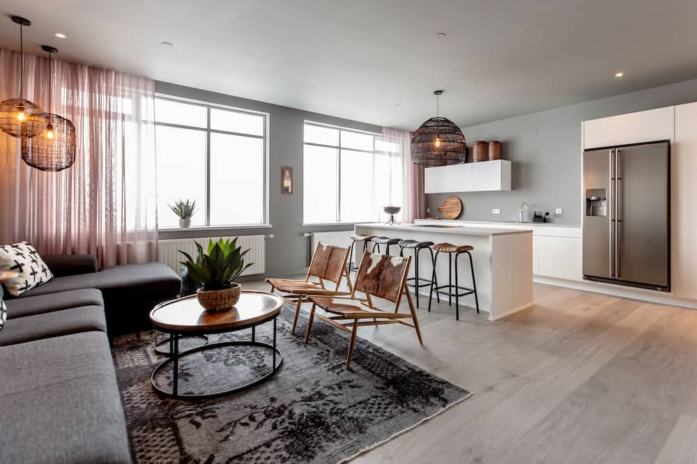 Апартаменти, 3 спальні (204) - Житлова площа
