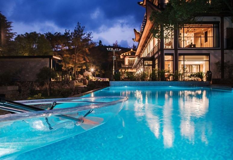 Yue Xi Shan Ju Resort, Wenzhou, Vonkajší bazén