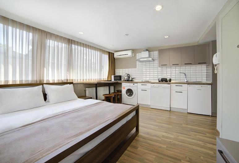 Taksim Premium Residence, İstanbul, Deluxe Çatı Katı Süiti (Penthouse), Şehir Manzaralı, Oda