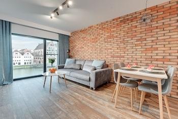 Foto van Boutique Aparthotel - Old Town Riverside in Gdańsk
