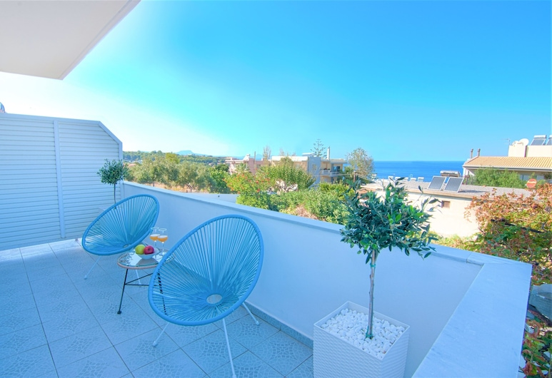 Teo Apartments, Rethymno, Executive Room (3), Balkoni