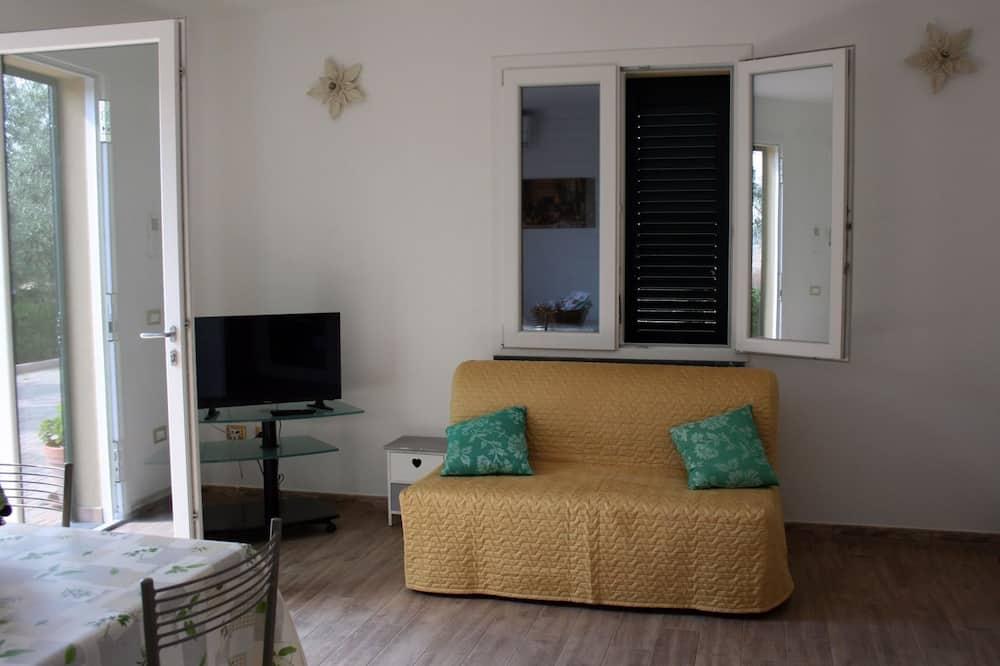 Departamento, 1 cama doble con sofá cama - Sala de estar