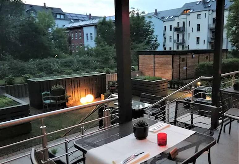 亞歷山大餐廳及寄宿屋酒店, 克姆尼茨, 室外用餐