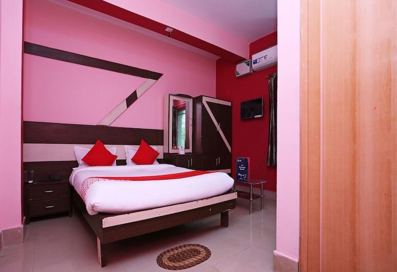 OYO 13624 Kapoors Plaza Guest House, Bhubaneshwar, Deluxe - kahden hengen huone, 1 suuri parisänky, Vierashuone