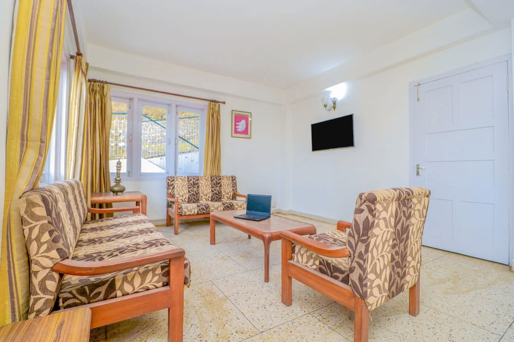 Doppel- oder Zweibettzimmer - Wohnbereich
