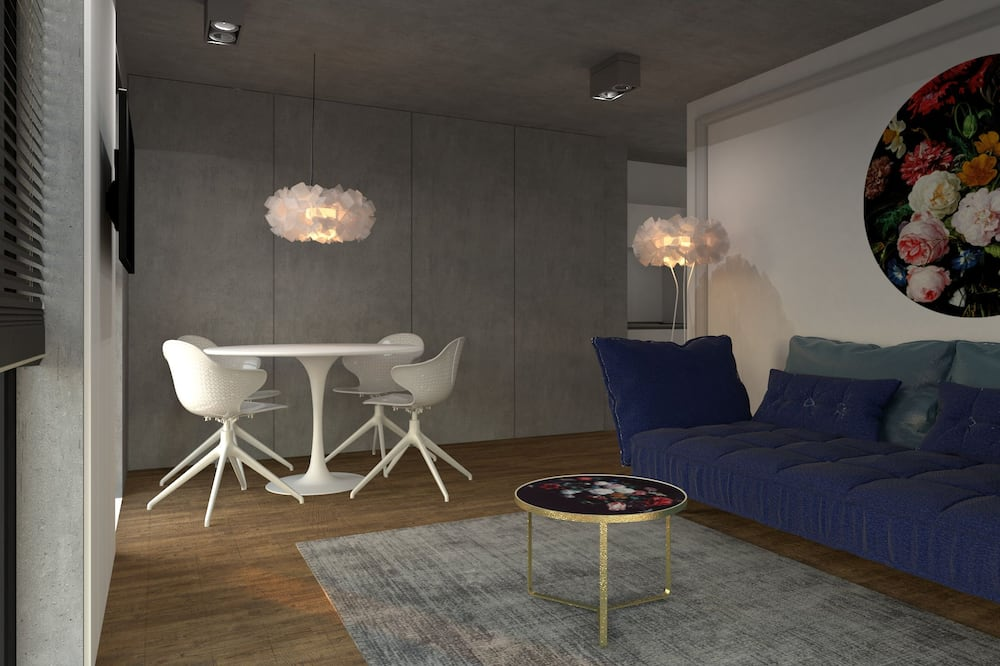 Design Apartment, River View (2) - Living Area