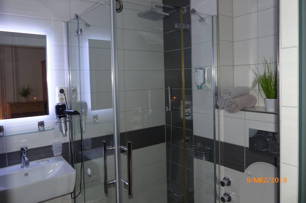 Comfort Twin kamer, 2 eenpersoonsbedden, Toegankelijk voor mindervaliden, niet-roken (Nr. 3) - Badkamer