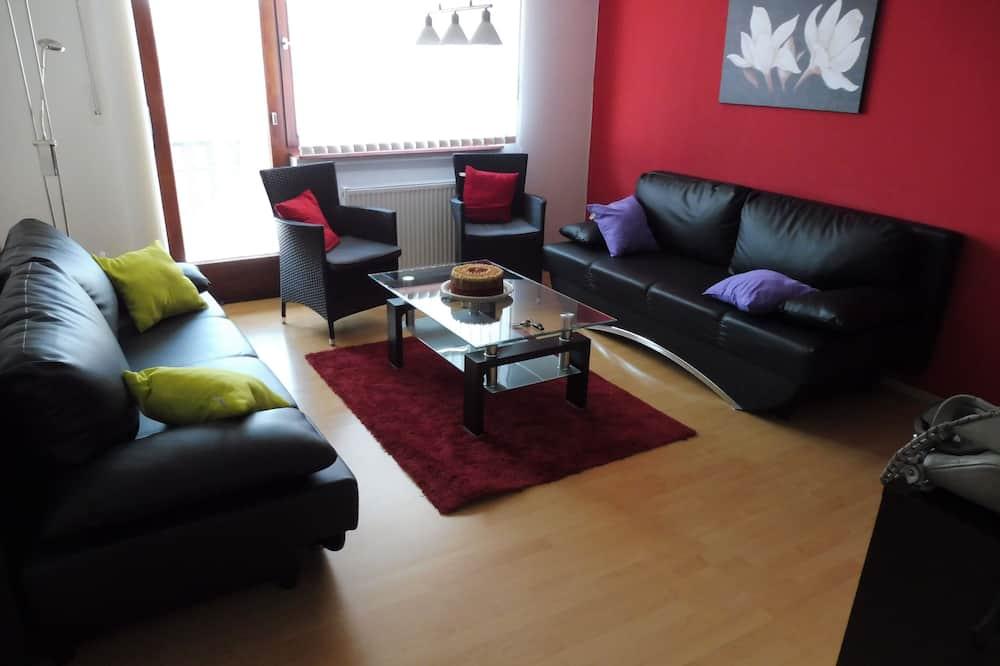 Komforta dzīvokļnumurs, skats uz kalnu, kalna puse (incl. cleaning fee 45 EUR) - Dzīvojamā zona